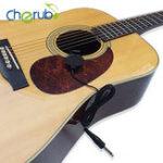 Оригинал Cherub WCP-60G Ukulele Guitar Pickup Профессиональный клип на пикап для акустической гитары