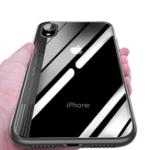 """Оригинал BakeeyЗащитныйЧехолдляiPhoneXR 6.1 """"Прозрачная прозрачная противоударная гибридная задняя крышка для ПК с ТПУ"""
