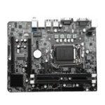 Оригинал Поддержка материнской платы Intel i3 / i5 / i7 Series CPU Intel® H55 / H57 / Q57 / P55 Набор микросхем