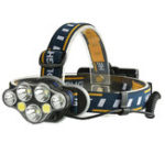 Оригинал XANES2606-71900LM3*T6 + 2 * XPE + 2 * COB 8 Режимы Bicycle Headlamp 2 * 18650 Батарея Интерфейс USB