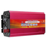 Оригинал LCD Инвертор питания DC 12V / 24V для переменного тока 110V / 220V 9000W Преобразователь с синусоидальным преобразователем с пиковым изменением