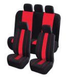 Оригинал 8штПолиэфирнаятканьАвтоПередняяи задняя защитная подушка для сиденья на 5 мест Авто