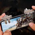 Оригинал Bakeey 1 пара мобильных телефонов игра Джойстик Геймпад Trigger Fire Button Game Controller для игры в телефон