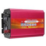 Оригинал LCD Инвертор питания DC 12V / 24V к AC 110V / 220V 6000W Пиковый модифицированный преобразователь синусоидальной волны