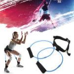 Оригинал 30LBВыносливыеполосысопротивленияРеменьСпортзал Упражнение Yoga Подставка для подъема Фитнес Здоровье Тренировочная группа