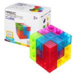 Оригинал Магнитные игрушки MoFun 3D Волшебный Fidget Cube Блоки Игрушки DIY Игрушка для модели здания