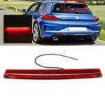 Оригинал LED Высокое крепление Стоп-сигнал Третий Третий Стоп Tail Лампа Белый Красный Двойной Цвет для VW Scirocco MK3 09-17