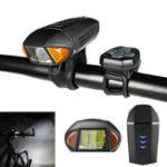 Оригинал XANESSFL13650LMНемецкийстандартSmart Датчик Bike Light с Дистанционное Управление Horn Bell USB аккумуляторная Водонепроницаемы Anti-dazzle