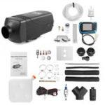 Оригинал 12V 2kw Diesel Air Parking Нагреватель Воздушное отопление LCD Экран с глушителем и Дистанционное Управление