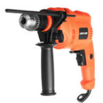 Оригинал 220V 600W Multifuncation Hammer Дрель 3200 об. / Мин. Проводной электрический Дрель Удар Дрель для Дрельing