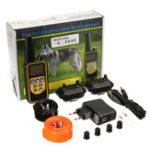 Оригинал RT-880 2 Воротник электрический Собака Система тренировочного ошейника Регулируемая перезаряжаемая Дистанционное Управление
