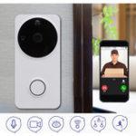 Оригинал Беспроводной WiFi Ring Doorbell Phone Дистанционный Video 2-Way Talk Audio Home Security