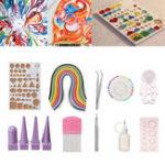 Оригинал 50 цветов Quilling Paper Набор Set Handmake DIY Доска для рукоделия ручной работы Mold Набор