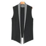 Оригинал Мужская осень Casual Cotton Sleeveless Cardigan Vest