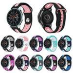 Оригинал Bakeey22-ммдвухцветныйСиликоновыйSmartMen Watch Стандарты Ремень для SamsungGalaxySM-R810 Smart Watch