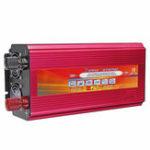 Оригинал LCD Преобразователь постоянного тока DC 12V / 24V в переменный 110V / 220V с модифицированным синусоидальным преобразователем