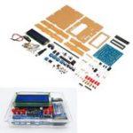 Оригинал DIY Измеритель частоты измерителя удельной емкости с индуктивностью Набор На основе 51 одночипового микроконтроллера с оболочкой