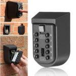 Оригинал На открытом воздухе Настенный ключ Безопасная комбинация Замок Хранение Коробка 10-цифровой пароль