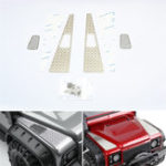 Оригинал Металлический вытяжной вентилятор + Skid Пластина для 1/10 Traxxas TRX-4 TRX4 82056-4 RC Авто Запчасти
