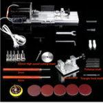 Оригинал 220V 350W 8000r / min Мини-токарные бусины Дерево Многофункциональная полировальная машина Деревообрабатывающий станок