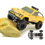 Оригинал RGT RC Авто 1/24 136240 4WD 4×4 Lipo mini Monster Off Road Truck RTR Rock Crawler With Lights