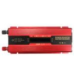 Оригинал 6000W Peak LCD Солнечная Преобразователь постоянного тока DC12 / 24V в AC 110V / 220V