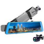 Оригинал V510дюймовПотоковоемультимедиаFull экран Touch Dual Объектив Авто Видеорегистратор