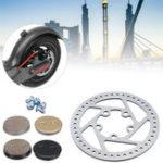 Оригинал МеталлическиетормозныедискиТормозныероторыПэды Запасные принадлежности для Xiaomi Electric Scooter