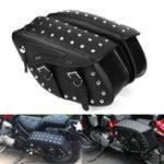 Оригинал мотоцикл Кожаная сумка из искусственной кожи Сторона Сумка для Harley Sportster 1200XL 883