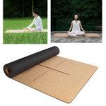 Оригинал XIAOMI YUNMAI 4мм натуральный резиновый коврик для корсеты Yoga Mats Non-slip Sports Sports Pilates Yoga Mat