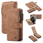 Оригинал ЗащитныйчехолCasemeдляiPhoneXS Максимальный магнитный съемный карман для карт памяти с застежкой-молнией