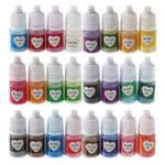 Оригинал 24Pcs Multicolor Crystal Resin Pearl С блестками Порошок для DIY ювелирных изделий Craft Craft