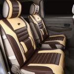 Оригинал 1шт. Кожа PU Авто Чехол для подушки для подушки сиденья Полный универсальный 7-местный универсальный