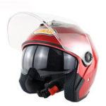 Оригинал мотоцикл Скутер Half Face Helmet Двойной Объектив Езда защитная Breathable Anti-UV