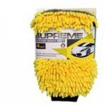 Оригинал 2PCS Водонепроницаемы Авто Перчатка для чистки микрофибры Чили 4 в 1 многофункциональная толстая Авто чистящая перчатка