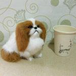 Оригинал Cute Puppy Lifelike Simulation Собака Фаршированная игрушка с плюшевыми игрушками