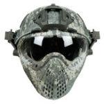 Оригинал WoSporT CS Тактический шлем армии с Маска мотоцикл Охотничья езда На открытом воздухе