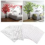 Оригинал Акриловые 3D дерева стены наклейки Art Decal Home Living Room Background Mural Decor