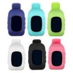 Оригинал Силиконовый Детей Wrist Smart Watch GPS Позиционирование SOS Call Анти Устройство для отслеживания оставленных действий