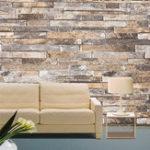 Оригинал 3D Wall Paper Brick Stone Шаблон Vinyl WallPaper Roll Living Room TV Background Decor