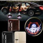 Оригинал 2Pcs Wireless Датчик Авто Дверные логотипы для дверей LED Проектор Shadow Red Vampire Courtesy Лазер Набор