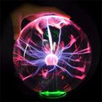 Оригинал 5 дюймов Обновление USB Плазменный шар сферический свет Кристалл свет Волшебный Стол Лампа Новинка Light Home Decor