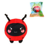 "Оригинал 3.5 ""Squishamals Foamed фаршированный жук Squishimal Toy Slow Rising Plush Squishy Toy Кулон"