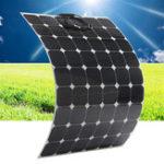 Оригинал Elfeland SP-30 170W 29V Sunpower Flexible Солнечная Панель с 1,5-метровым кабелем для дома RV Лодка