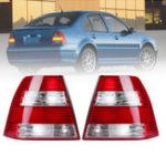 Оригинал Пара Авто Тормоз задних фонарей Лампа без ламп для VW Jetta / Bora MK4 Sedan 1999-2005
