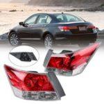 Оригинал Левый / правый красный Авто Хвостовой корпус для Honda Accord EX 4-дверный седан 2008-2012 HO2801172