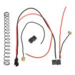 Оригинал Модернизированный кабель коробки передач для JinMing SCAR V2 Gen8 M4a1 Гель Аксессуары для замены взрывчатых веществ