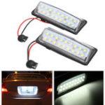Оригинал Пара LED Авто Лицензия Пластина Свет 12V Белый для Nissan J31 Maxima J32 Cefiro Murano