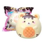 Оригинал Yummiibear Super Fat Bear Squishy 25CM лицензируется медленным ростом с упаковкой Jumbo Toy