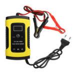 Оригинал iMars ™ 12V 6A Импульсный ремонт LCD Батарея Зарядное устройство для Авто мотоцикл Кислота свинцовая Батарея Agm Гель Влажная